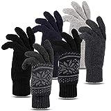 Tarjane Winterhandschuhe für Damen und Herren Thinsulate Strick Handschuhe