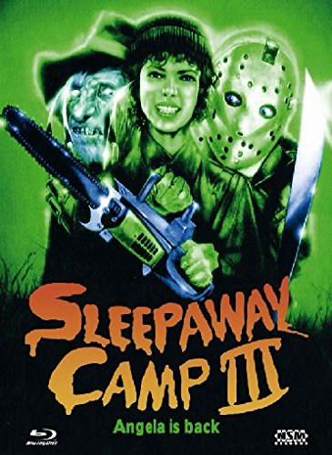 Sleepaway Camp 3 (Camp des Grauens 3) - Mediabook (+ DVD) [Blu-ray] [Limited Edition] Preisvergleich