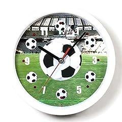 Idea Regalo - Atlanta - Calcio Orologio da parete con la musica - 4482