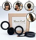 Flower Curl - Heatless Hair Curler | Overnight Heatless Curls