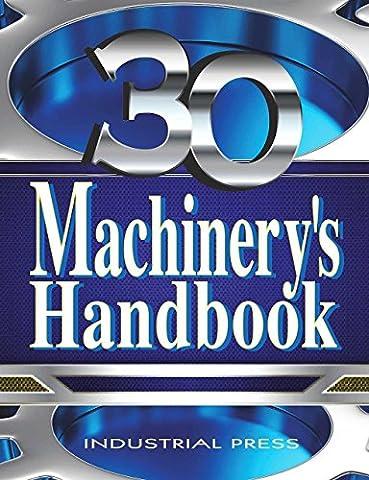 Machinery's Handbook: Toolbox & CDROM SET (Machinery's Handbook