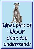 Irischer Wolfshund–Neuheit Hund Kühlschrank Magnete–viele Designs erhältlich