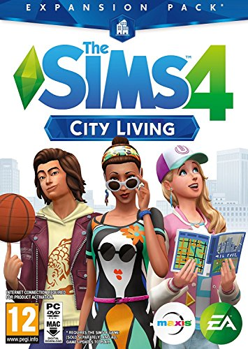 THE SIMS 4 City Living Edition DLC |PC Origin Instant Access