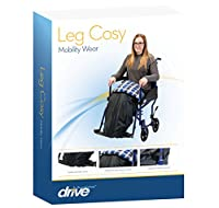Drive Medical Waterproof Wheelchair Leg Cosy with Soft Brushed Cotton Inner