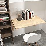 Tische WSSF- Wand-Klapptisch Klapptisch Festholz Computer Schreibtisch Esstisch Lerntisch Klappschreibtisch Größe Optional (Größe : 100*60cm)