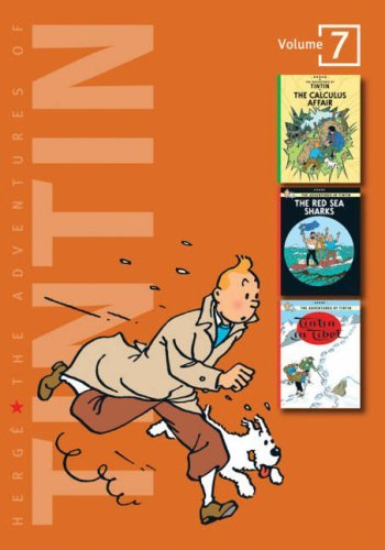 """The Adventures of Tintin: Volume 7 (Compact Editions): """"The Calculus Affair"""", """"The Red Sea Sharks"""", """"Tintin in Tibet"""" v. 7 (The Adventures of Tintin - Compact Editions) by Hergé (February 5, 2007) Hardcover"""