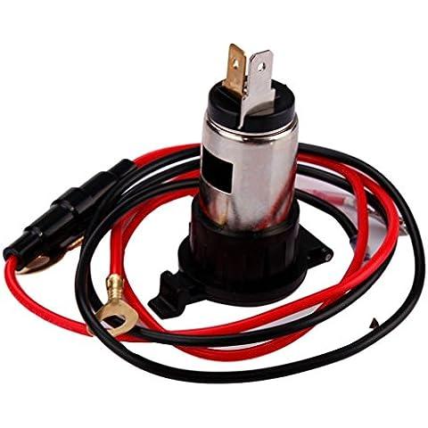Spina Accendisigari Per Auto Moto ,Ouneed®Cigarette 12V 120W Auto Moto Barca Trattore più Leggero di Alimentazione della Presa di corrente Plug
