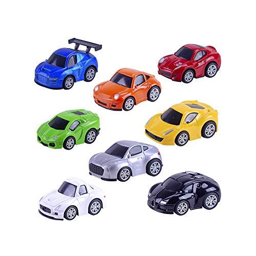 Mini Fahrzeuge Satz Alu Druckguss Spielzeug Pull-Back-Träger-Auto-lustiges Spielzeug-Sport-Auto-Modell für Kinder ()
