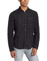 Levis Mens Casual Shirt (6901032528453_17620-0048_XX-Large_Black)