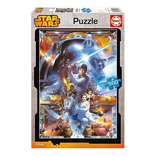 Educa 16167 - 500 Star Wars, Puzzle Star Wars Puzzle-educa