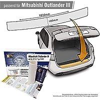 Spangenberg Seitenschutzleisten schwarz f/ür Mitsubishi Outlander II vor Facelift Baujahr 04.2006-02.2010 F12 370001205