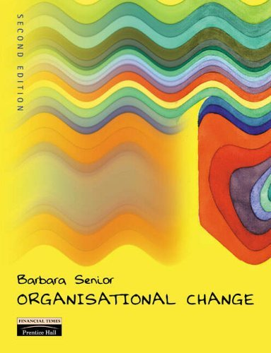 Organisational Change by Barbara Senior (2001-11-01)
