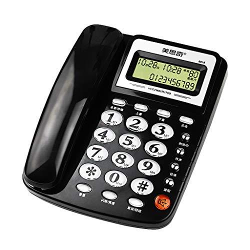 corded phone Telefono Fisso per Ufficio Famiglia telefonica cablata Telefono chiamante ID/Chiamata in Attesa Vivavoce