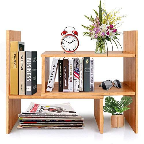 Hoseejoy - Libreria da scrivania in bambù