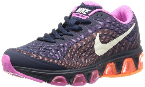 Nike Wmns Air Max Tailwind 6, Scarpe da Corsa Donna Blu (Azul Marino (Obsidian / Sail-Rd Vlt-Atmc Orng))
