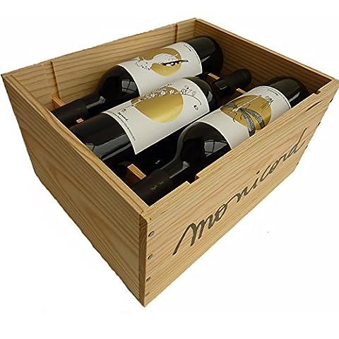 Clos Monicord 2011 - 6 bouteilles, Caisse Bois