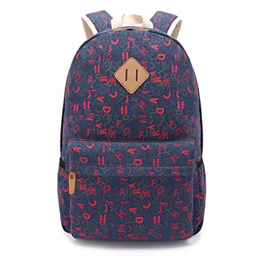 Ethnische Mode-Taschen Mädchen Rucksack Schüler Schultasche #1