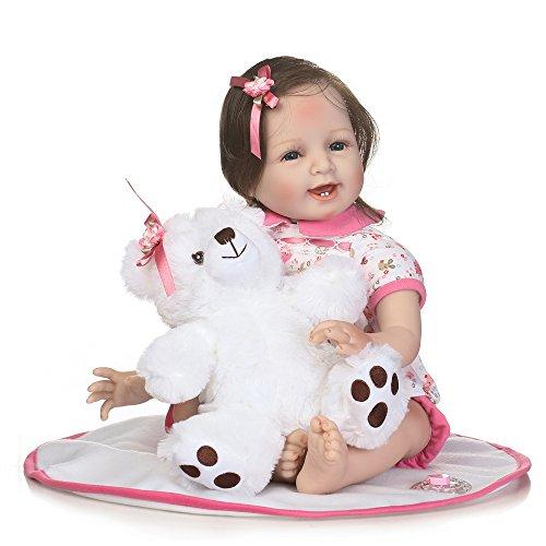 Decdeal Muñeca Renacer Reborn Bebé Niña 34a5eb7415d4