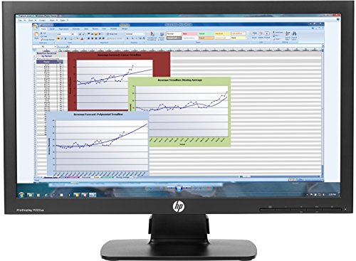 HP P222VA LCD Monitor 21.5 '