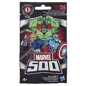 Hasbro – B3259 – Marvel 500 – Série 1 – 1 Sachet Mystère avec 1 Mini Figurine 5 cm – Modèle Aléatoire