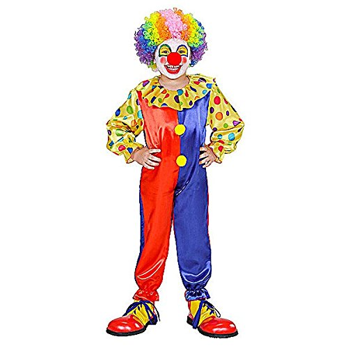 Clown Costume for Circus Clowns And Fun Fairs Fancy Dress Up Outfits (Clown Outfits Für Kinder)