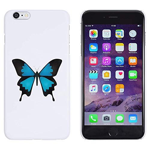 Azeeda Blanco 'Mariposa Ulises' Funda iPhone 6 Plus