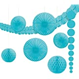 Kit de décoration Bleu Caraïbes