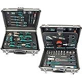 Brüder Mannesmann Werkzeuge 90-teilig Werkzeug-Koffer, 1 Stück, M29067