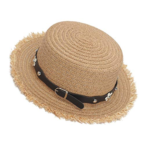 4ba9a597387f7 Sombrero para El Sol Ladies Summer Sun Hats Women Panama Straw Beach Hats  Hat Ladies Fashion