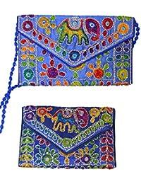 Amazon.es: Multicolor - Carteras de mano y clutches / Bolsos ...