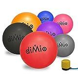 diMio Gymnastikball 55 cm grau inkl. Pumpe (55-65cm, 7 Farben)