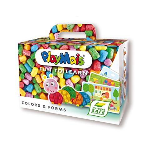 PlayMais 160063 - PlayMais FUN TO LEARN, Colors & Forms, Bastelset (Pädagogische Spielwaren Der Vorschule)
