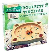"Globo Jouets Globo–3686221,5x 21,5cm ""legnoland Tiroler Roulette"" jouet en bois"
