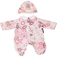Gotz 3402931 Baby Doll Combo Colourful Meadow - Size S - Dolls Clothing / Accessory Set - Suitable For Baby Dolls Size S (30 - 33 cm)