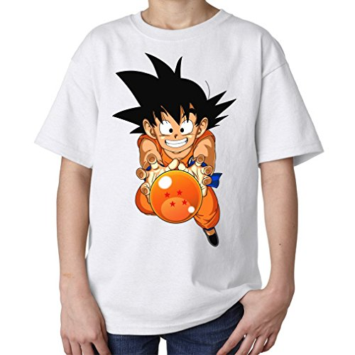 Goku and Four Dragon Ball Kids Unisex T Shirt L 146-152 (cm)