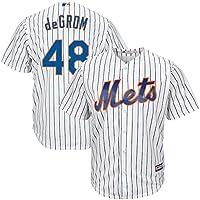 Camiseta Deportiva Baseball Jersey Sudadera de béisbol de los New York Mets NO.48 GROM,White,Men-XXL
