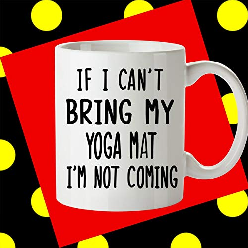 Yoga gift yoga regali per yogi yoga insegnante regalo divertente yoga yoga quote yoga gift for friend yoga idee regalo yoga yoga tazza da caffè