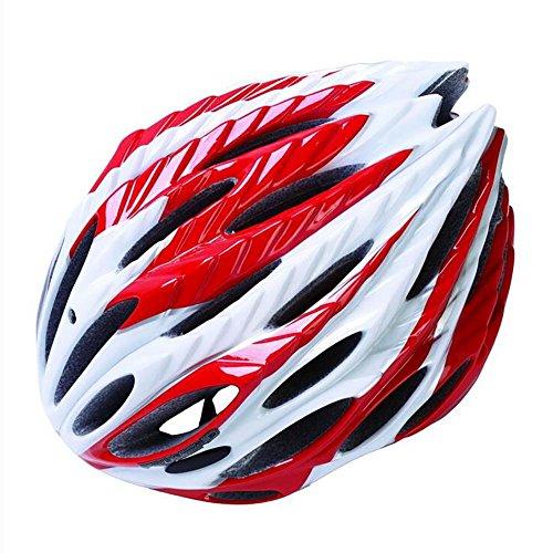 MIAO Fahrradhelm-Outdoor Männer und Frauen Berg / Rennrad Fahrradhelme Sportschutzausrüstung , red (Giant Frauen Rennrad)