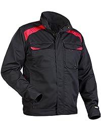 Blakläder 405418009956s industria–Chaqueta, talla S, color negro/rojo