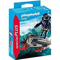 Playmobil Especiales Plus Espía con Jet, única (9086)