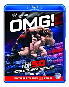 WWE - OMG! - The Top 50 Incidents In WWE History [Blu-ray]