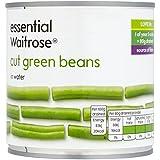 Judías verdes cortadas esencial Waitrose 400g