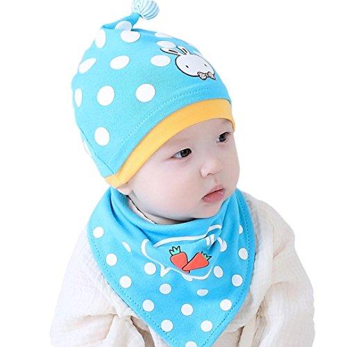 Garde Nette Farbe Kostüme (Hirolan Baby Beanie Zum Jungen Mädchen Katze Baumwolle Hut Kinder Drucken Hüte)