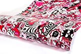 (29,97 EUR pro m²) 30x150cm Pink Stickerbombfolie Stickerbomb folie Autofolie aufkleber sticker bomb car wrapping