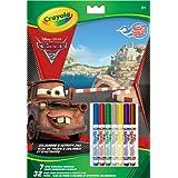 Crayola 20 páginas para Colorear Cars