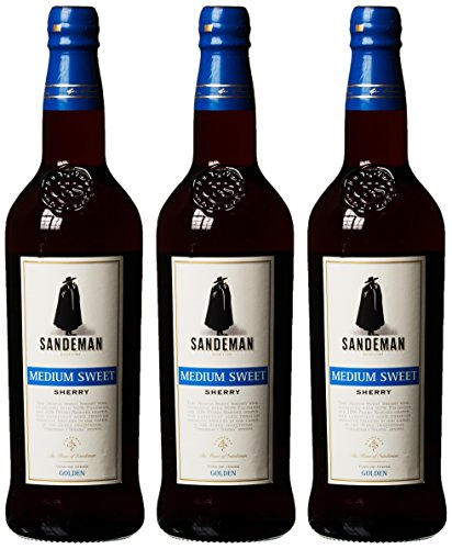 Sandeman Medium Sweet Sherry (3 x 0.75 l)