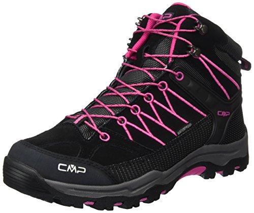 CMP Unisex-Erwachsene Rigel Trekking-& Wanderschuhe, Grau (Antracite-Hot Pink 515Q), 38 EU