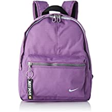 Nike Classic Mochila niño, Color Dark Orchid/Black/Pure Platinum, tamaño 33
