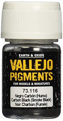 Vallejo (30 ml Pigmente - Carbon Smoke -