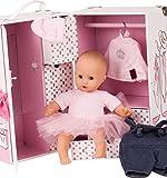 Götz 3403039 Schrankkoffer Karl - Muffin to Dress Edition - 13-teiliges Puppen & Puppenzubehör-Set...